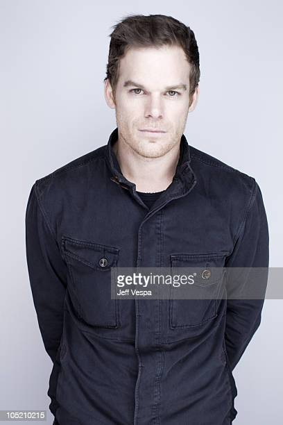 Actor Michael C Hall poses at a portrait session at the 2010 Toronto International Film Festival in Toronto CAN on September 15 2010