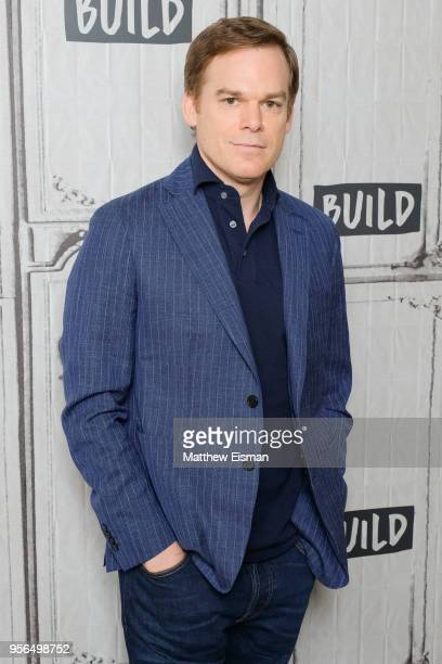 Actor Michael C Hall visits BUILD Series to discuss his new Netflix series 'Safe' on May 9 2018 in New York City