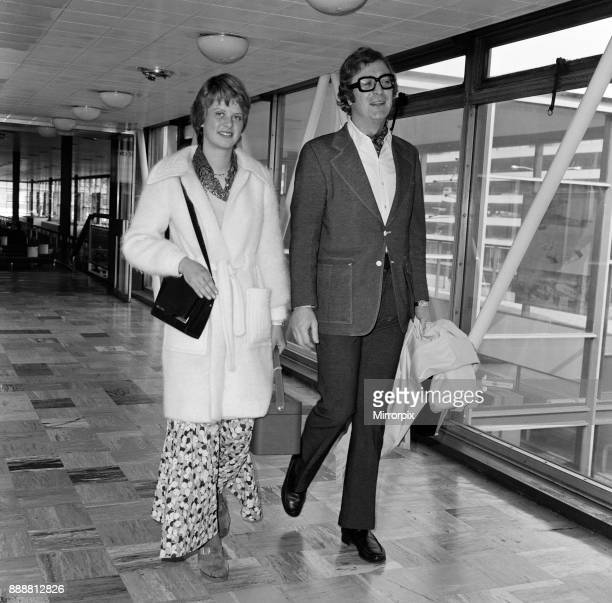 Actor Michael Caine and his daughter Dominique left Heathrow Airport for Los Angeles today Michael is going to be compere and a nominee for the...