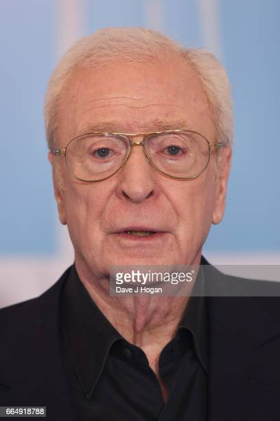 Actor Michael Caine attends the Going In Style special screening on April 5, 2017 in London, United Kingdom.