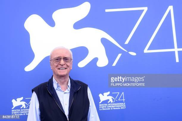 "Actor Michael Caine attends the photocall of the movie ""My Generation"" presented out of competition at the 74th Venice Film Festival on September 5,..."