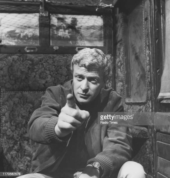 Actor Michael Caine for the BBC television movie 'The Compartment', July 31st 1961.