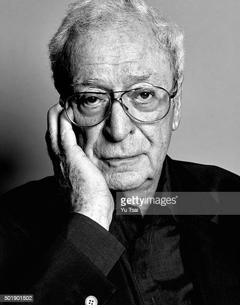 Actor Michael Caine is photographed at the Toronto Film Festival for Variety on September 12 2015 in Toronto Ontario Published Image