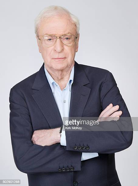 Actor Michael Caine is photographed for Los Angeles Times on November 14 2015 in Los Angeles California PUBLISHED IMAGE CREDIT MUST READ Kirk...