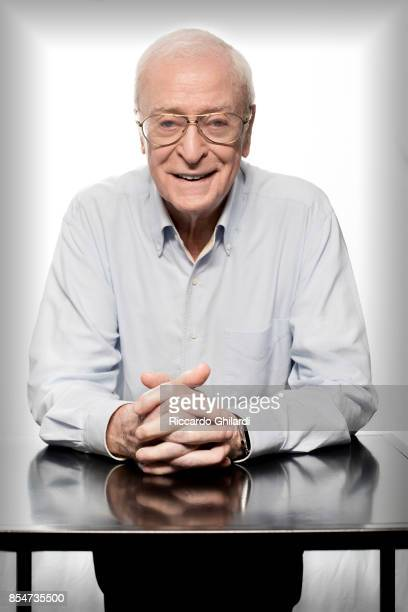 Actor Michael Caine is photographed for Self Assignment on September 6 2017 in Venice Italy