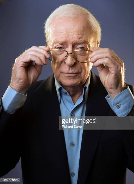 Actor Michael Caine is photographed for the Observer on February 7 2018 in London England