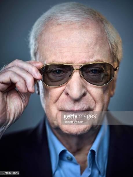 Actor Michael Caine is photographed for the Times on February 7 2018 in London England