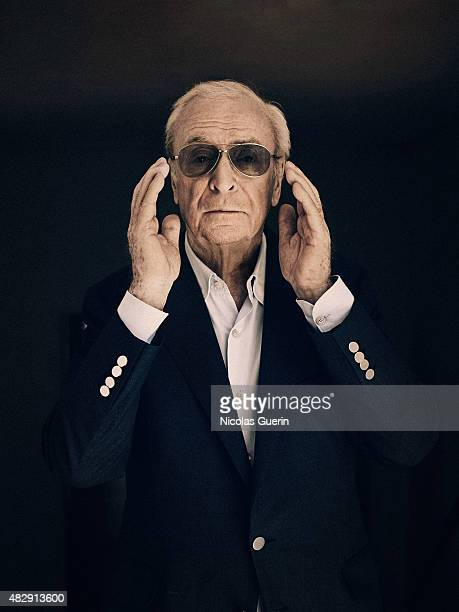 Actor Michael Caine is photographed on May 15 2015 in Cannes France