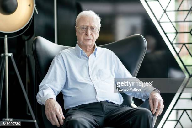 Actor Michael Caine is photographed on September 6 2017 in Venice Italy