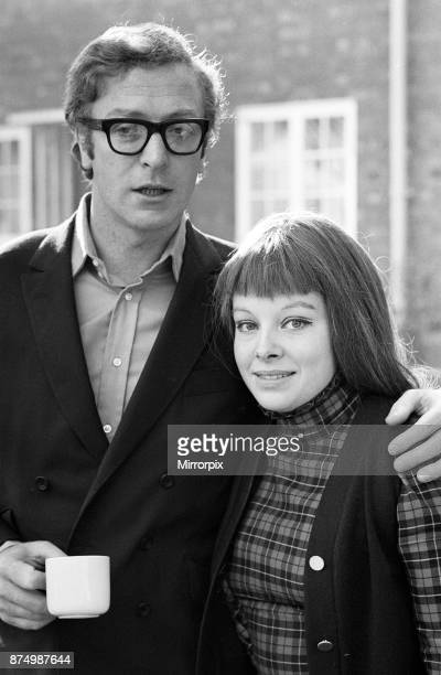 Actor Michael Caine with actress Anna CalderMarshall the female lead in the new ATV drama Cornelius which also stars Michael Caine 21st October 1968