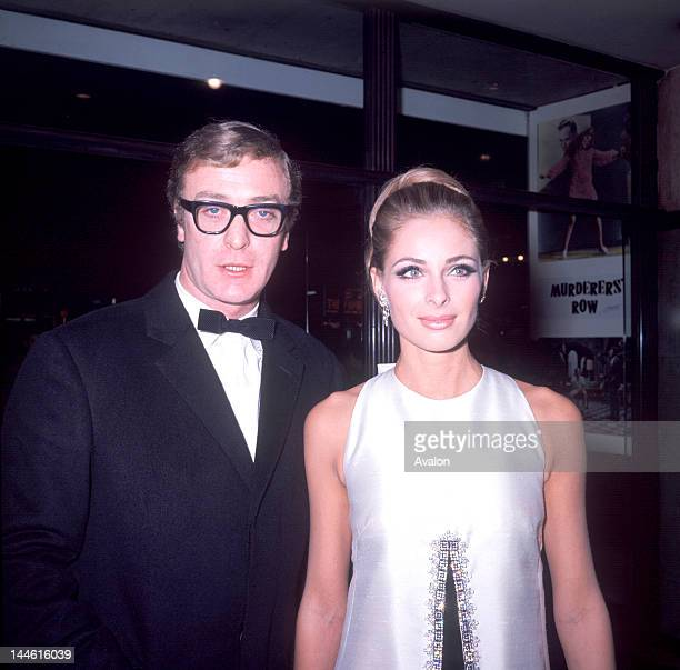 Actor Michael Caine with Actress Camilla Sparv photographed in 1967