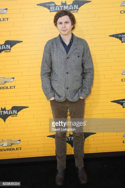 Actor Michael Cera attends the Premiere of Warner Bros Pictures' The LEGO Batman Movie at the Regency Village Theatre on February 4 2017 in Westwood...