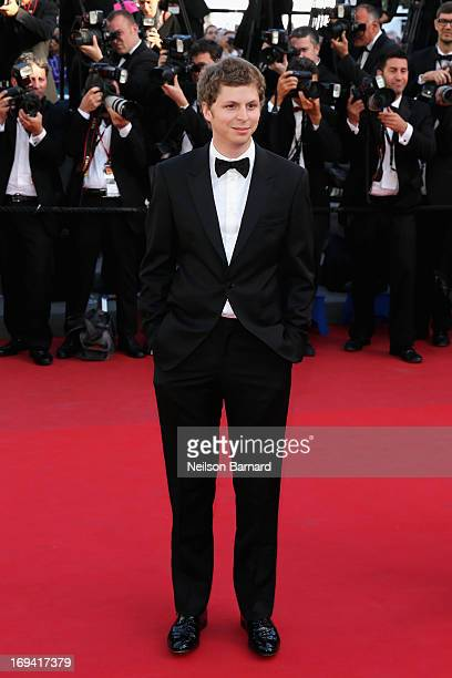 Actor Michael Cera attends the 'The Immigrant' premiere during The 66th Annual Cannes Film Festival at the Palais des Festivals on May 24 2013 in...