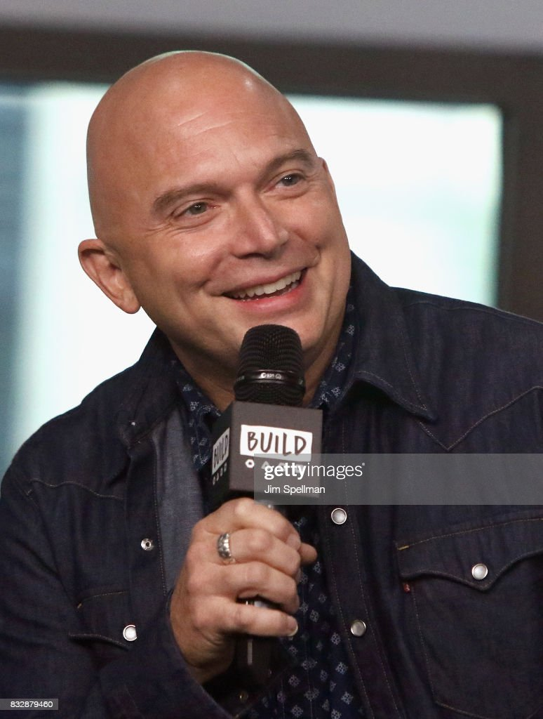 Actor Michael Cerveris attends Build to discuss 'The Tick' at Build Studio on August 16, 2017 in New York City.