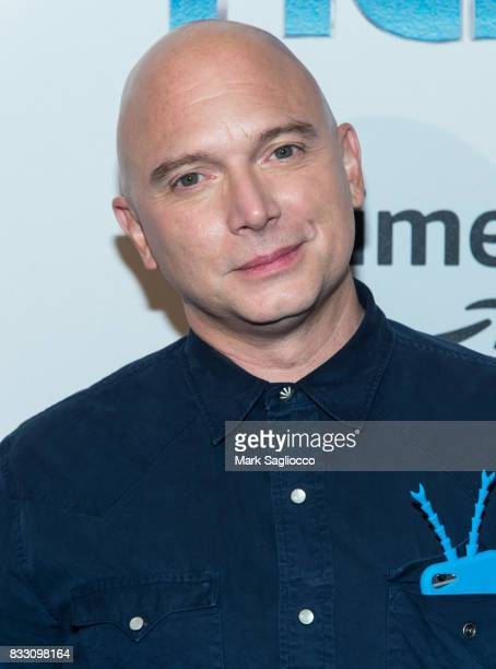 Actor Michael Cerveris attends the 'The Tick' Blue Carpet Premiere at Village East Cinema on August 16 2017 in New York City