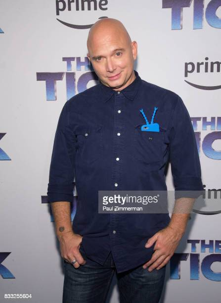 Actor Michael Cerveris attends 'The Tick' Blue Carpet Premiere at Village East Cinema on August 16 2017 in New York City