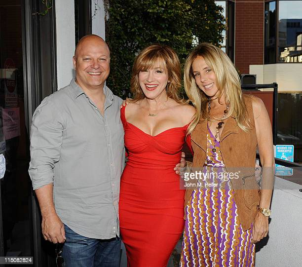 Actor Michael Chiklis actress/author Lisa Ann Walter and Michelle Moran attend the book signing for The Best Thing About My Ass is That It's Behind...
