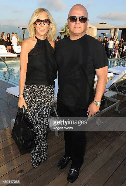 Actor Michael Chiklis and his wife Michelle Moran attend Maria Menounos' book launch party for 'The EveryGirl's Guide To Diet Fitness' at SIXTY...