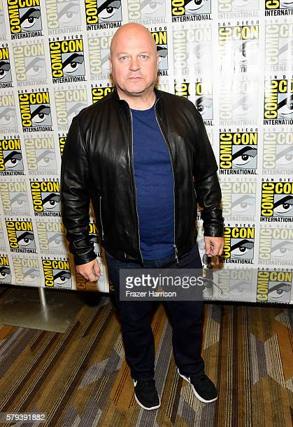 Actor Michael Chiklis attends the 'Gotham' press line during ComicCon International 2016 at Hilton Bayfront on July 23 2016 in San Diego California