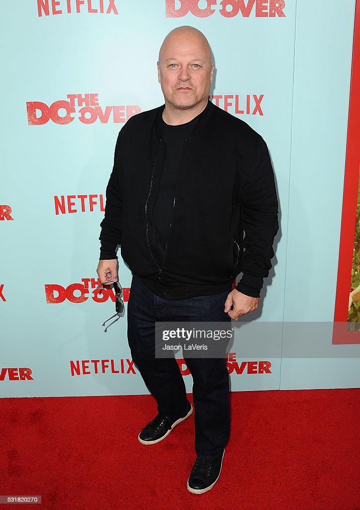 Actor Michael Chiklis attends the premiere of 'The Do Over' at Regal LA Live Stadium 14 on May 16, 2016 in Los Angeles, California.