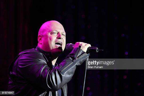 Actor Michael Chiklis performs 'The 5th Annual inCONCERT To Benefit Project Angel Food' at The Howard Fine Theatre on October 17 2009 in Hollywood...