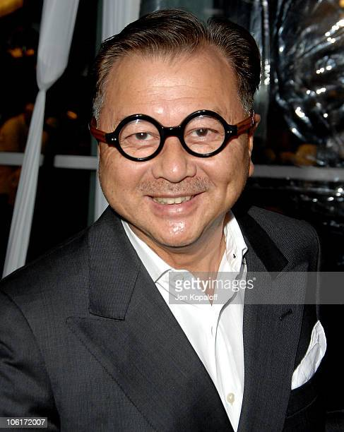 Actor Michael Chow arrives at the Los Angeles premiere American Gangster at the ArcLight Theater on October 29 2007 in Hollywood California