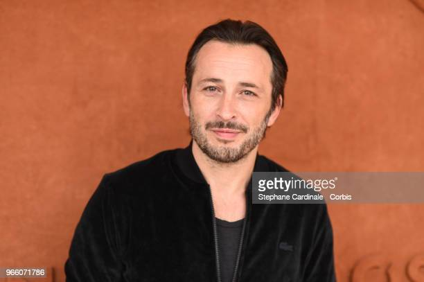 Actor Michael Cohen attends the 2018 French Open Day Seven at Roland Garros on June 2 2018 in Paris France