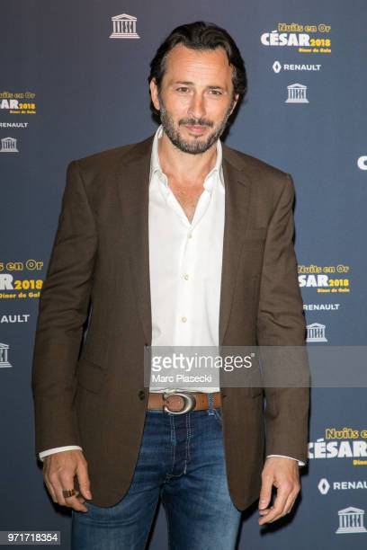 Actor Michael Cohen attends the 'Les Nuits En Or 2018' dinner gala at UNESCO on June 11 2018 in Paris France