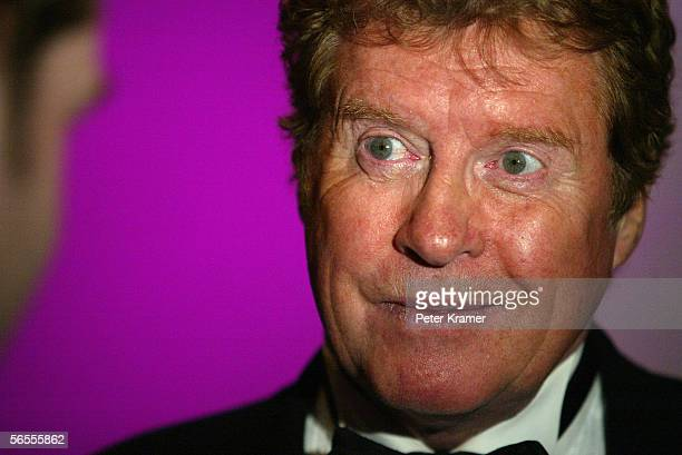 Actor Michael Crawford attends the after party for The Phantom of the Opera celebration of becoming the longest running show in Broadway history...