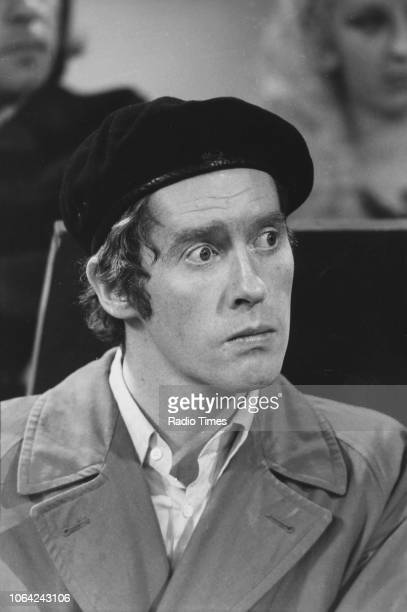 Actor Michael Crawford in a scene from the television sitcom 'Some Mothers Do 'Ave 'Em', October 15th 1973.