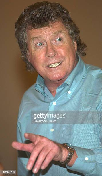 Actor Michael Crawford performs the role of Count Von Krolock in the Dance of the Vampires September 18 2002 in New York City The production is based...