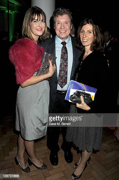 Actor Michael Crawford with daughters Emma and Lucy attend an after party following press night for Andrew Lloyd Webber's new West End production of...
