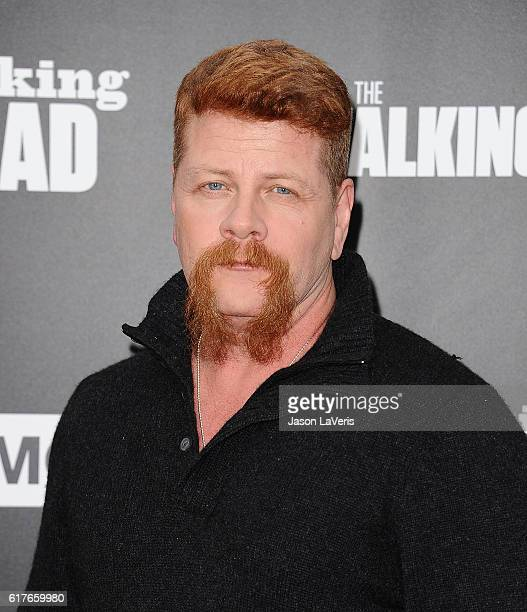 Actor Michael Cudlitz attends the live 90minute special edition of 'Talking Dead' at Hollywood Forever on October 23 2016 in Hollywood California