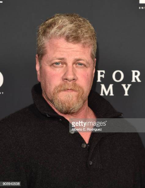 Actor Michael Cudlitz attends the premiere of Roadside Attractions' 'Forever My Girl' at The London West Hollywood on January 16 2018 in West...