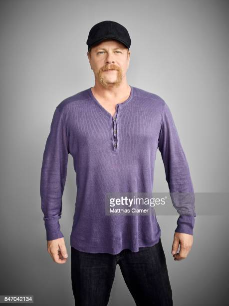 Actor Michael Cudlitz from 'The Walking Dead' is photographed for Entertainment Weekly Magazine on July 23 2016 at Comic Con in the Hard Rock Hotel...