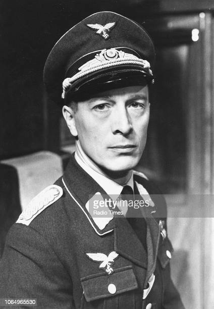 Actor Michael Culver in a scene from the television series 'Secret Army' September 13th 1977