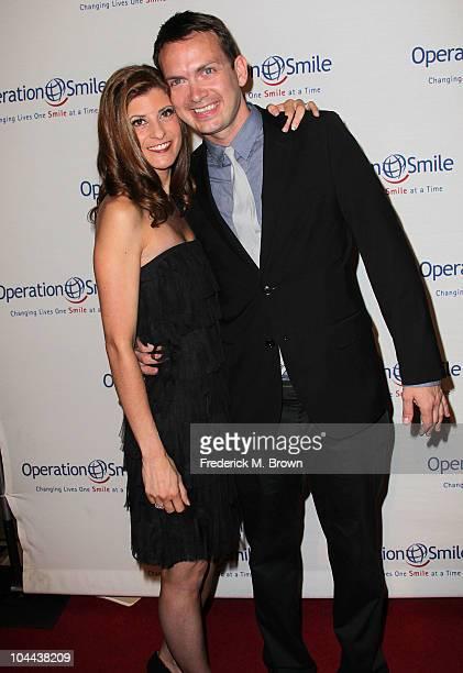 Actor Michael Dean Shelton and his guest attend the Ninth annual Operation Smile gala at the Beverly Hilton Hotel on September 24 2010 in Beverly...
