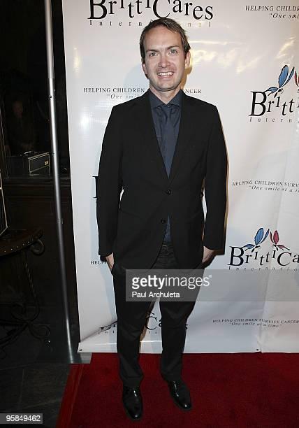 Actor Michael Dean Shelton arrives at the Britticares International Foundation's Golden Globe Awards Post Celebration at The Green Door on January...