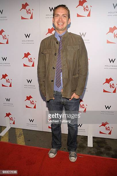 """Actor Michael Dean Shelton arrives at the """"LAYN Rocks"""" benefit concert for the Los Angeles Youth Network, held at the Avalon nightclub on November..."""