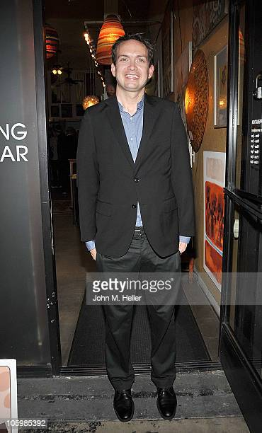 Actor Michael Dean Shelton attends the book launch of Puppy School by actor David Dayan Fisher at MUSH on October 23 2010 in Los Angeles California