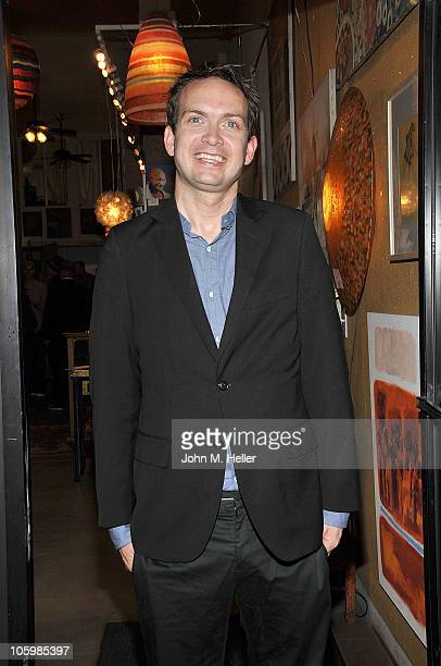 """Actor Michael Dean Shelton attends the book launch of """"Puppy School"""" by actor David Dayan Fisher at MUSH on October 23, 2010 in Los Angeles,..."""