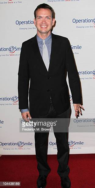 Actor Michael Dean Shelton attends the Ninth annual Operation Smile gala at the Beverly Hilton Hotel on September 24 2010 in Beverly Hills California