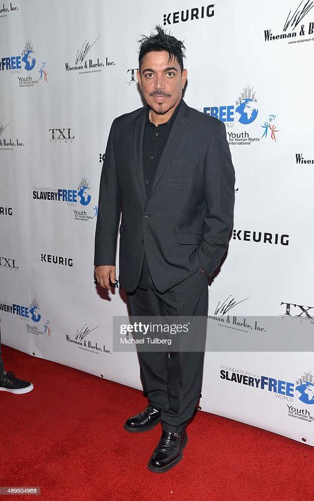 Actor Michael DeLorenzo attends The Human Rights Hero Awards presented by Marisol Nichols' Foundation for a Slavery Free World and Youth for Human Rights International at Beso on September 21, 2015 in Hollywood, California.