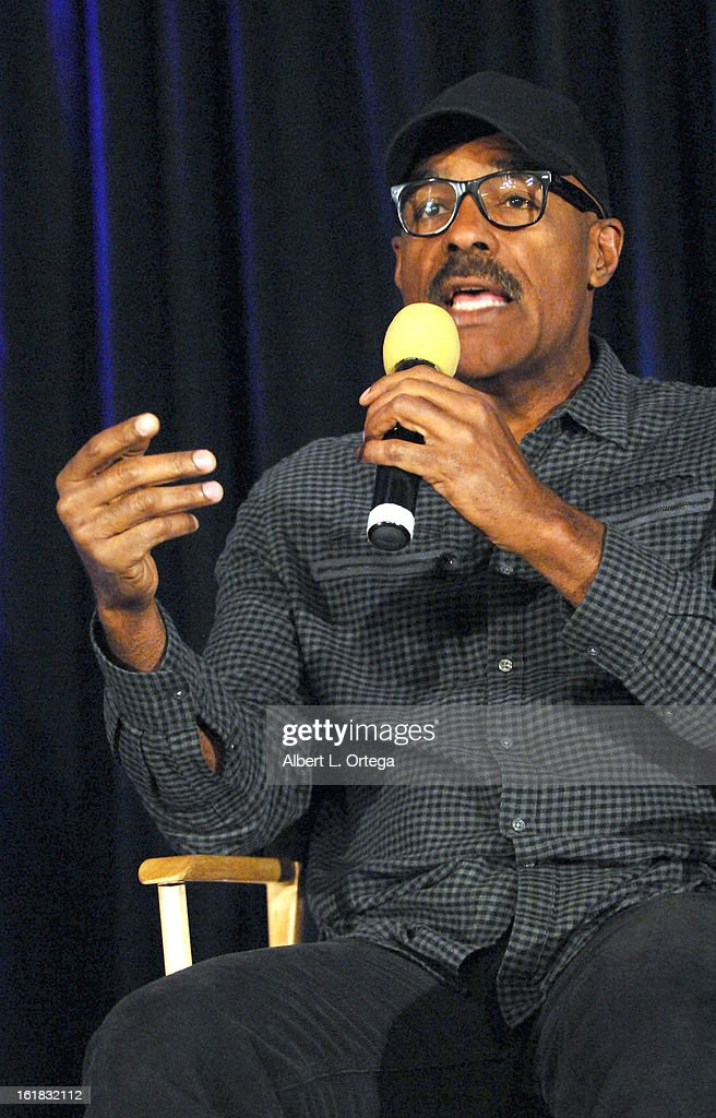 Actor Michael Dorn attends Creation Entertainment's Grand Slam Convention: The Star Trek And Sci-Fi Summit held at Burbank Marriott Convention Center on February 16, 2013 in Burbank, California.