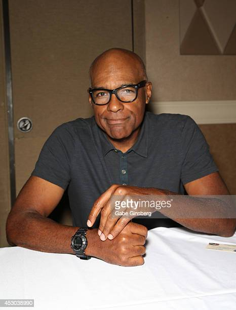 Actor Michael Dorn attends the 13th annual Star Trek convention at the Rio Hotel Casino on August 1 2014 in Las Vegas Nevada