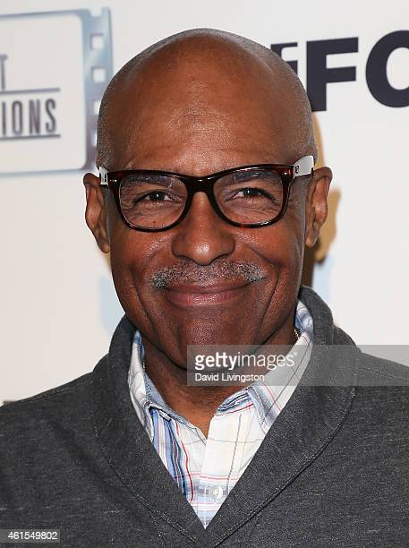 Actor Michael Dorn attends the premiere of Match at the Laemmle Music Hall on January 14 2015 in Beverly Hills California