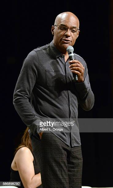 Actor Michael Dorn on day 4 of Creation Entertainment's Official Star Trek 50th Anniversary Convention at the Rio Hotel Casino on August 6 2016 in...