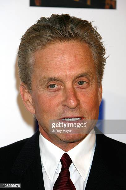 Actor Michael Douglas arrives at 'A Fine Romance' To Benefit The Motion Picture Television Fund at Sony Pictures Studios on October 20 2007 in Culver...