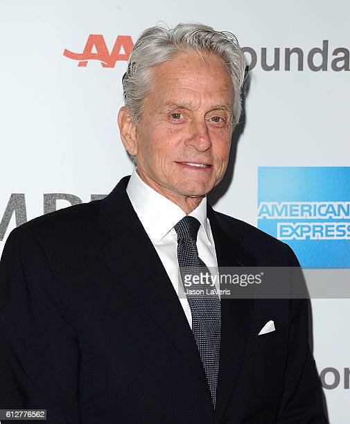 Actor Michael Douglas attends MPTF's 95th anniversary celebration 'Hollywood's Night Under The Stars' on October 1 2016 in Los Angeles California
