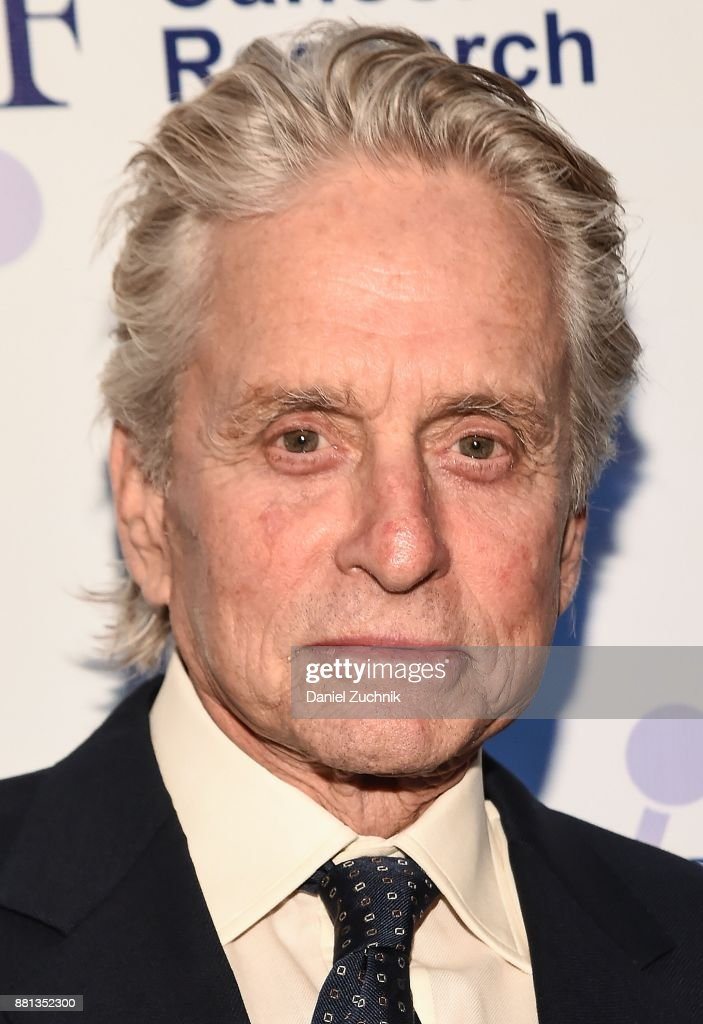 Actor Michael Douglas attends the 2017 Israel Cancer